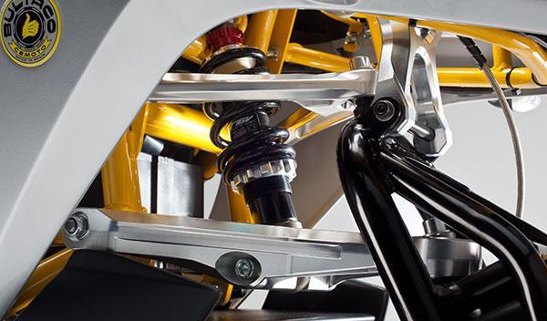 Bultaco Rapitán dual link
