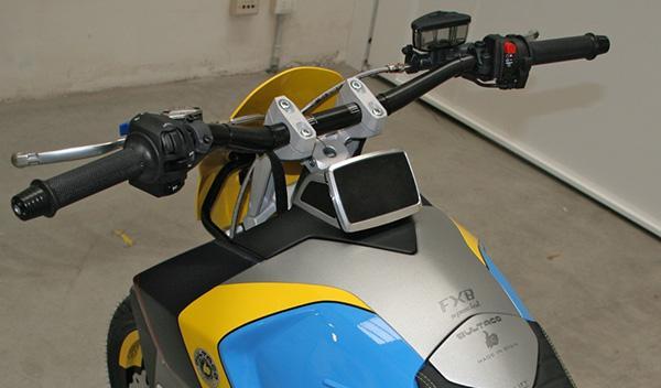 Bultaco Rapitán Sport manillar
