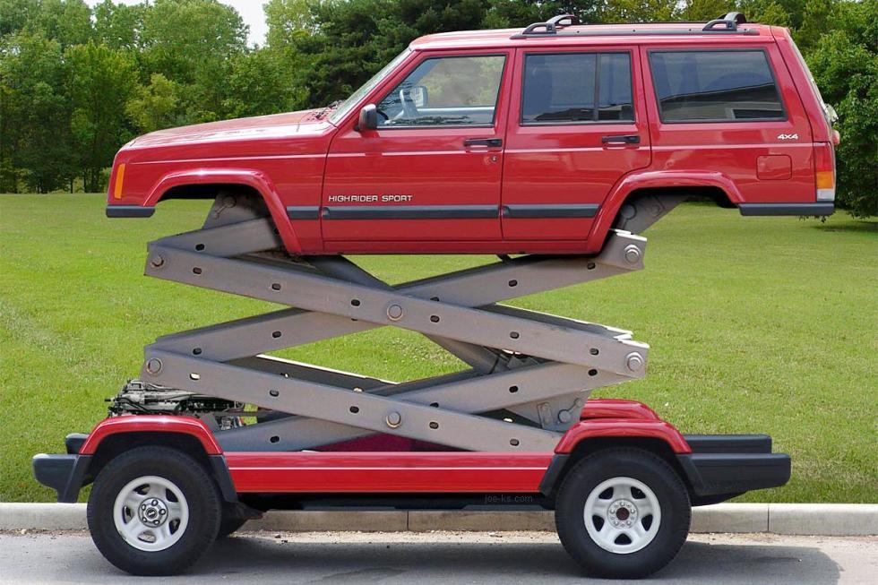 Jeep Cherokee frak