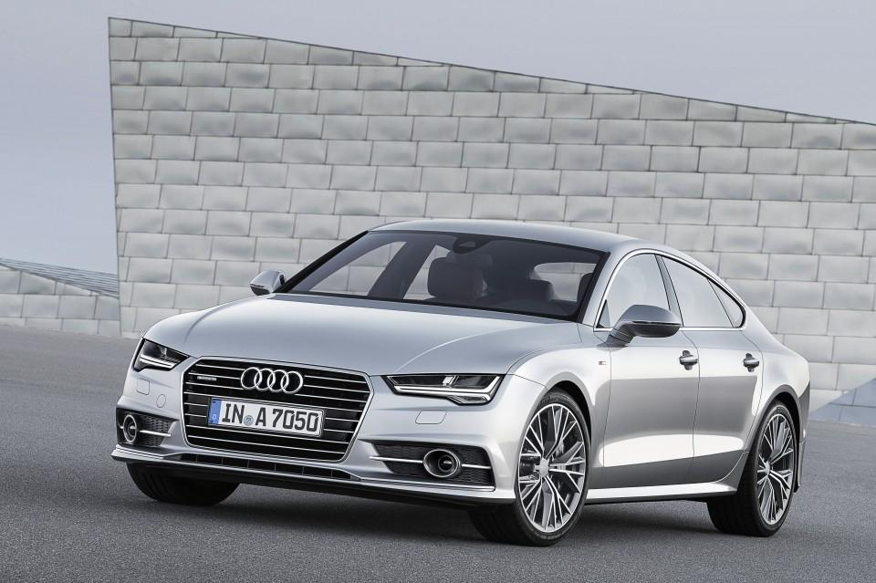 Audi A7 2014 lateral