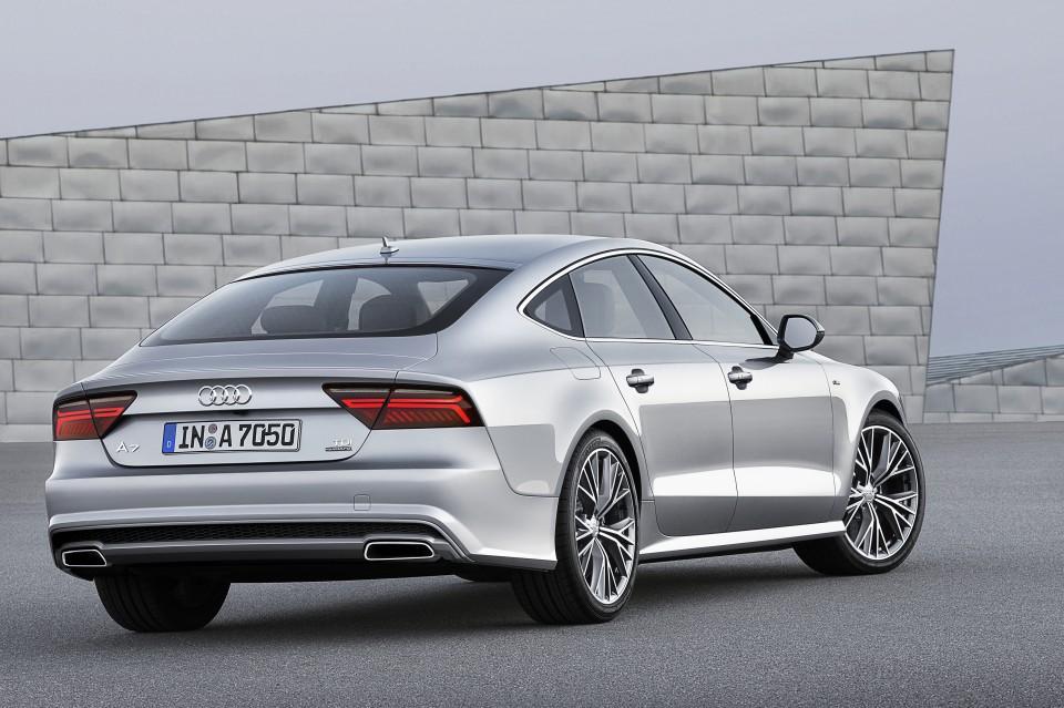 Audi A7 2014 zaga