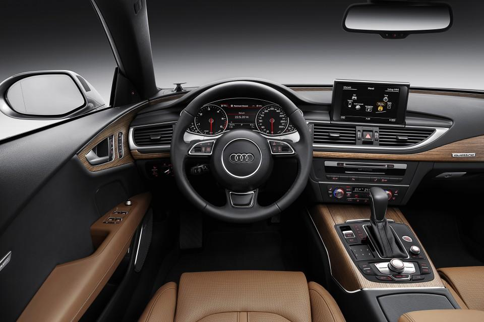 Audi A7 2014 salpicadero