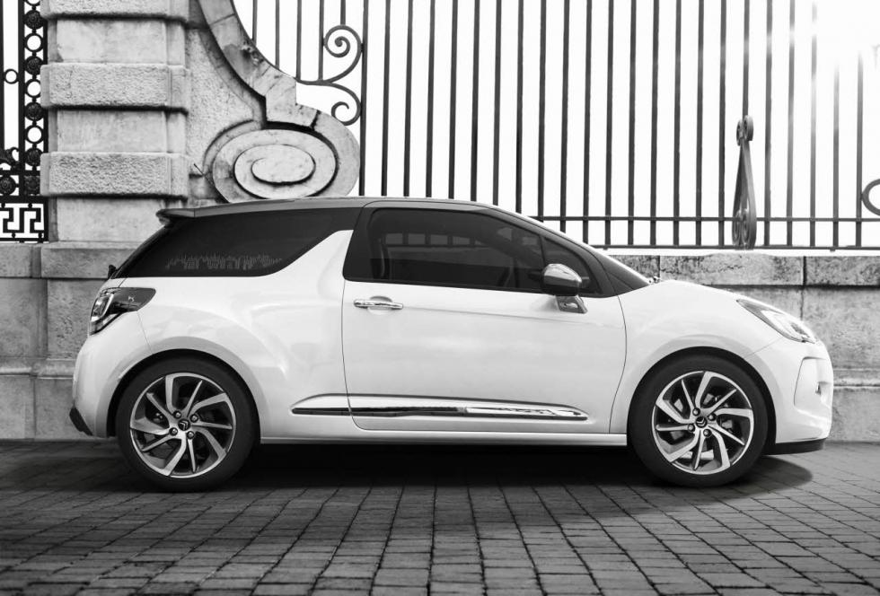 Lateral del DS 3 2014