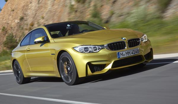 Nuevo BMW M4 delantera