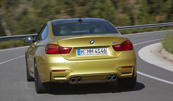 Nuevo BMW M4 trasera