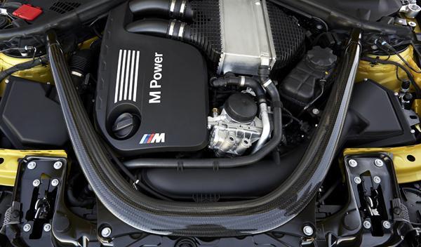 Nuevo BMW M4 motor
