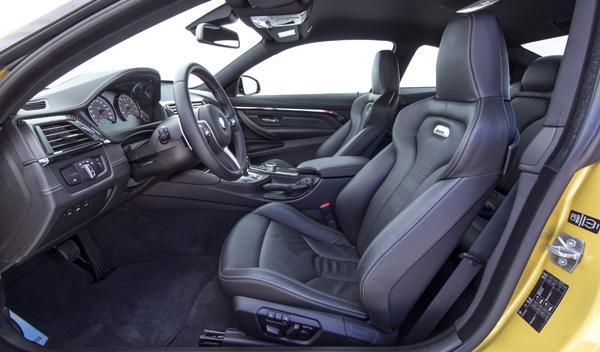 Nuevo BMW M4 asientos