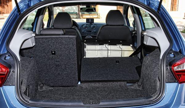 Seat Ibiza maletero