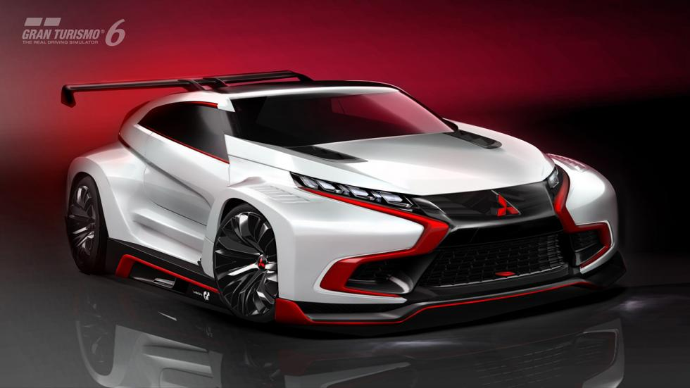 Mitsubishi Concept XR-PHEV Evolution Vision GT
