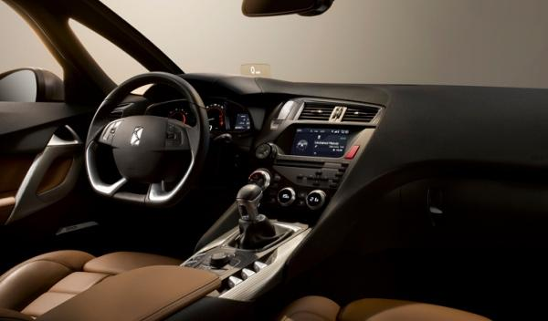 Citroën DS5 interior