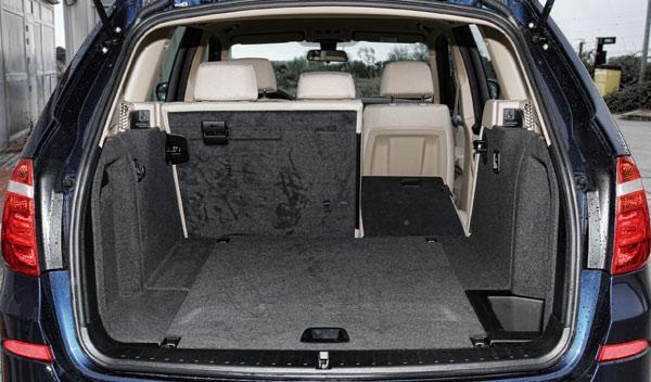 El maletero del X3 tiene 550 de capacidad que se usan con facilidad