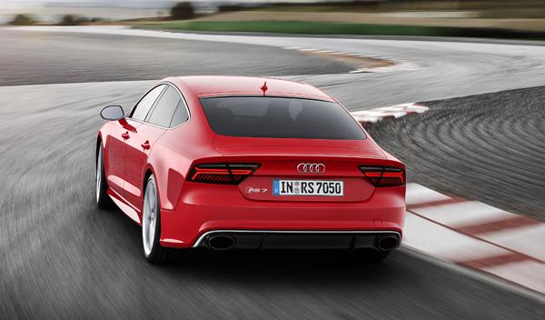Audi RS 7 2014 trasera