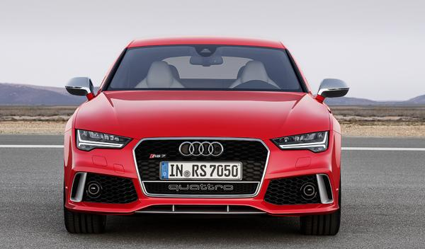 Audi RS 7 2014 frontal