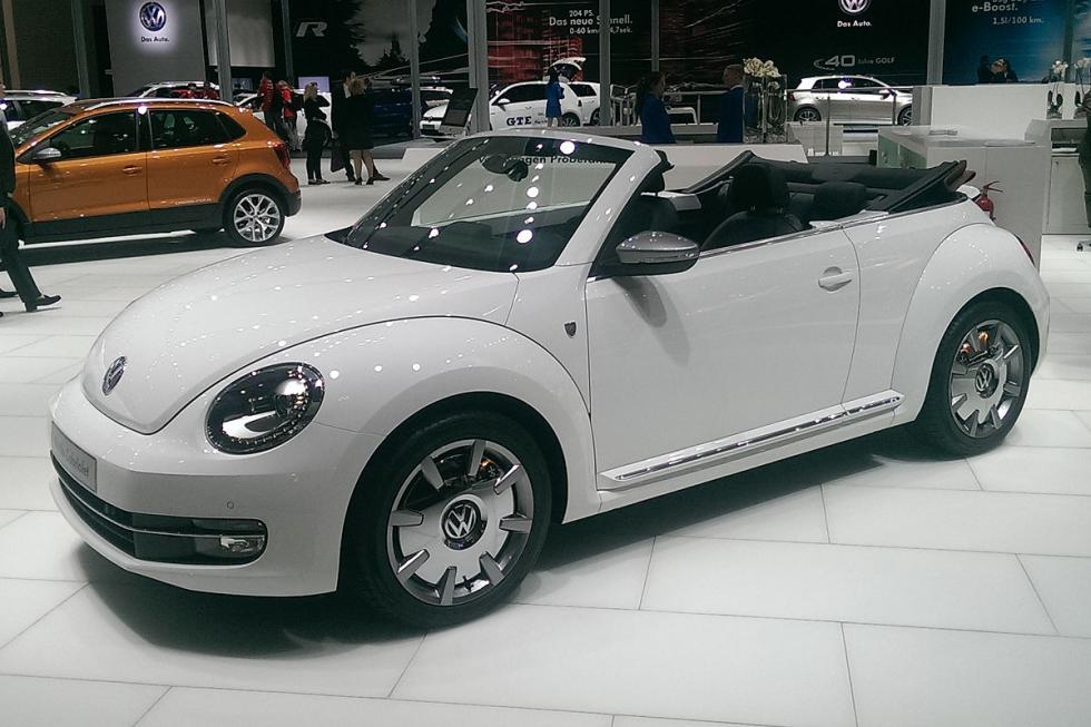 VW Beetle Cabriolet Karmann