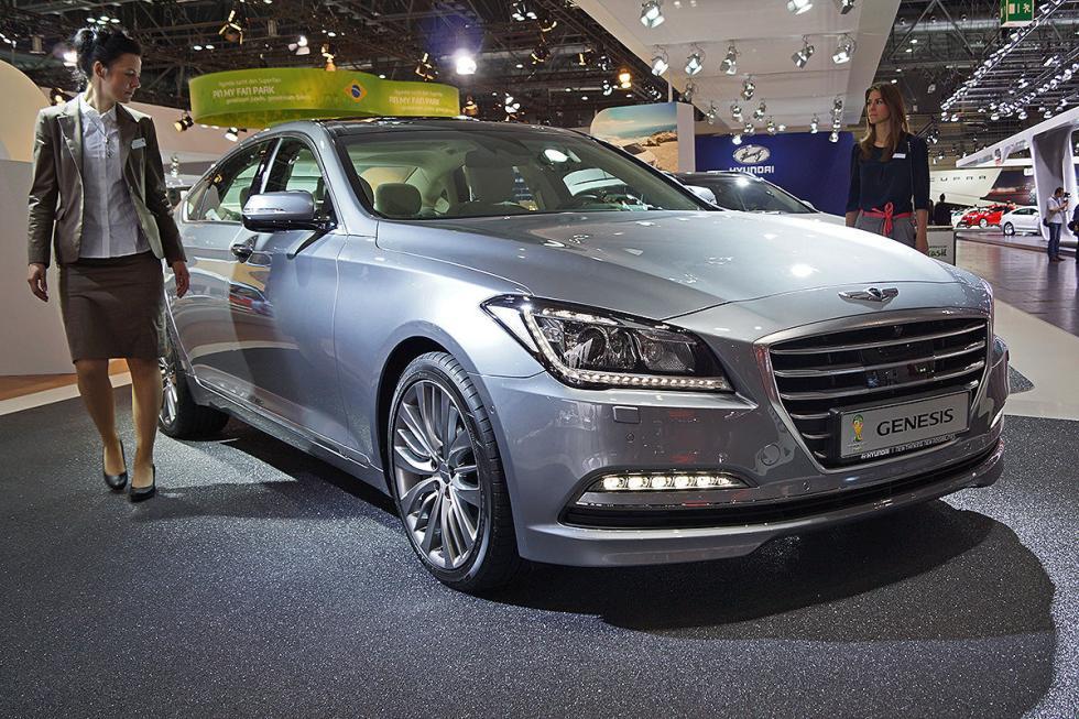 Nuevo Hyundai Genesis: máximo lujo y 315 CV