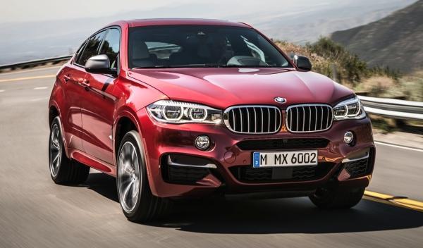Delantera del nuevo BMW X6 2014