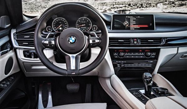 Interior del nuevo BMW X6 2014