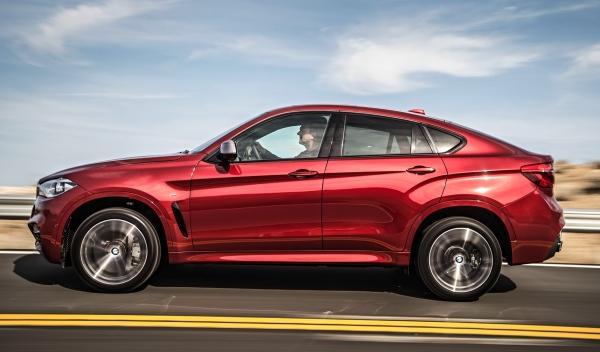 Lateral del nuevo BMW X6 2014