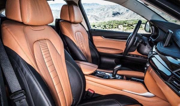Asientos del nuevo BMW X6 2014