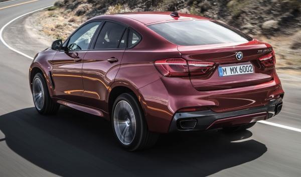 Trasera del nuevo BMW X6 2014