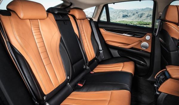 Plazas traseras del nuevo BMW X6 2014