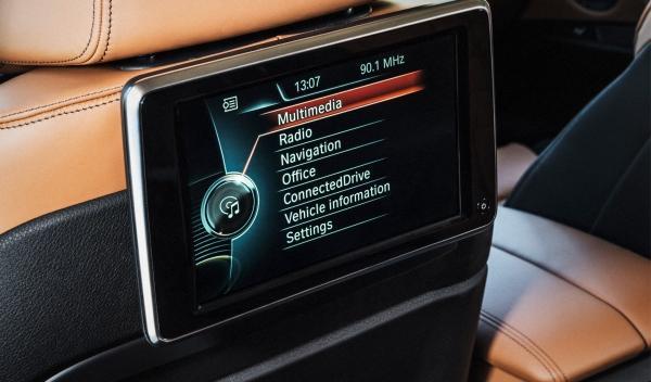 Sistema multimedia del nuevo BMW X6 2014