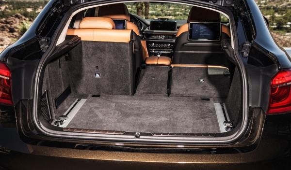 Maletero del nuevo BMW X6 2014