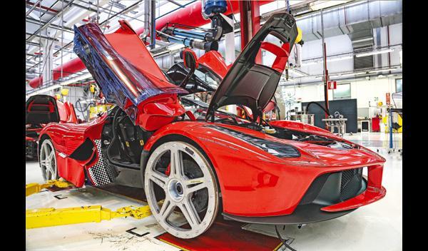 Ferrari LaFerrari fabrica