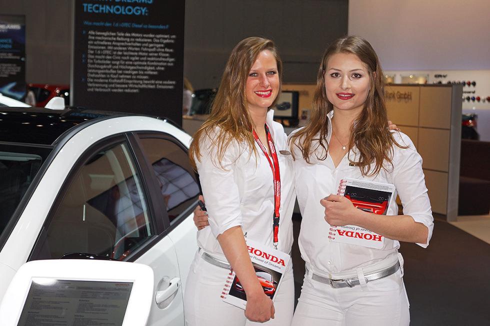 Las chicas más 'sexys' del Salón de Leipzig AMI 2014