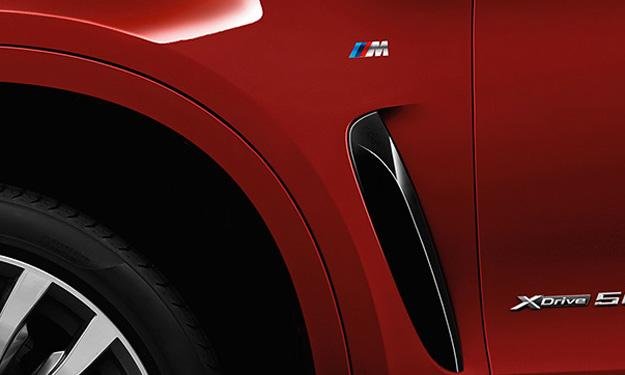BMW X6 2014 paquete M pasos de rueda