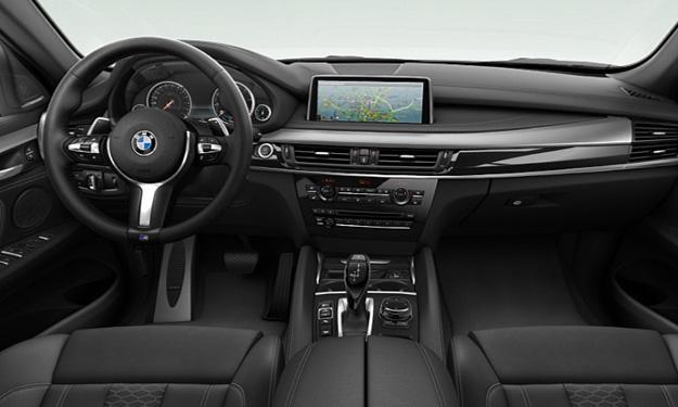 BMW X6 2014 paquete M salpicadero