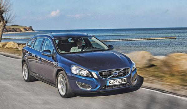 Test 100.000 km Volvo V60 frontal