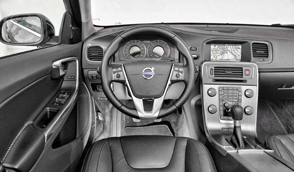 Test 100.000 km Volvo V60 interior
