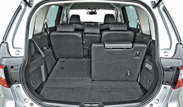 Maletero del Mazda5