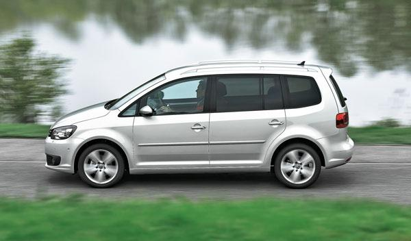 Lateral del Volkswagen Touran