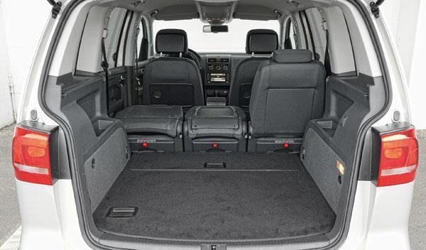 Maletero del Volkswagen Touran