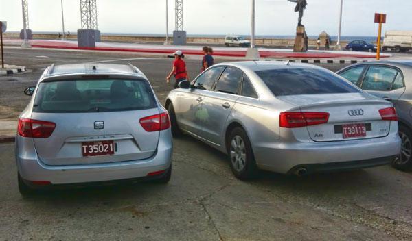 coches europeos solo para turistas en cuba
