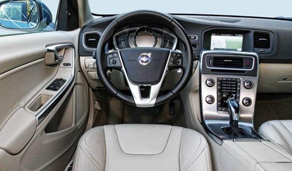Interior del Volvo V60