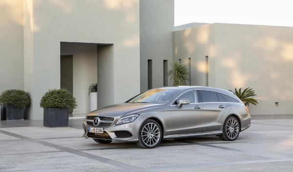 Mercedes CLS 2015 shooting brake