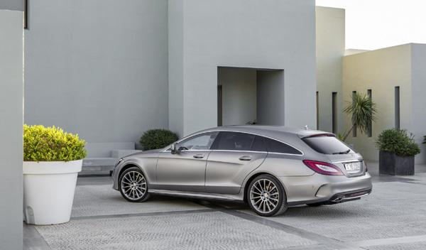 Mercedes CLS 2015 shooting brake trasera