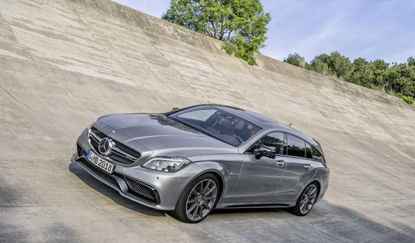 Mercedes CLS 2015 shooting brake AMG