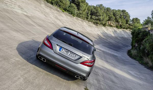 Mercedes CLS 2015 shooting brake AMG trasera