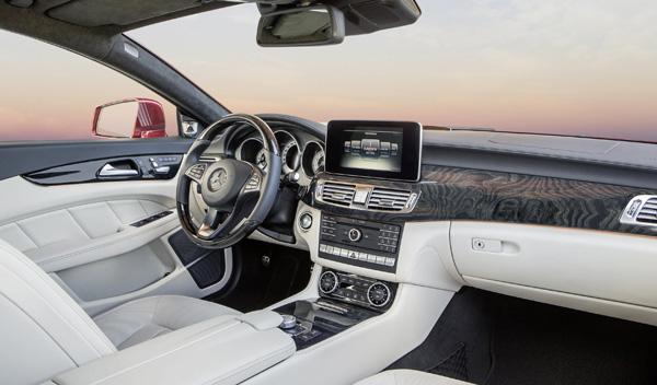 Mercedes CLS 2015 interior