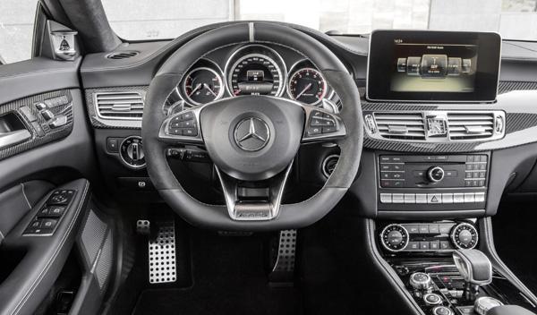 Mercedes CLS 2015 salpicadero