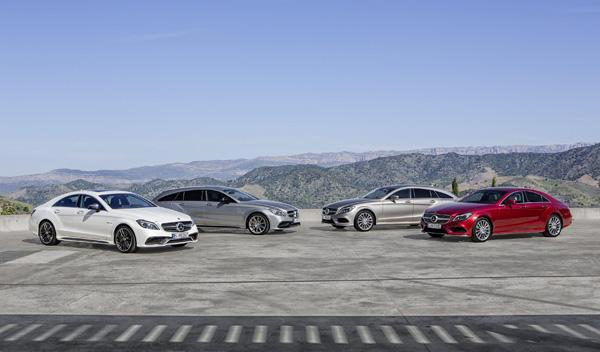 Mercedes CLS 2015 familia