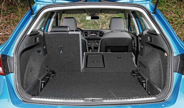 Seat Leon ST maletero
