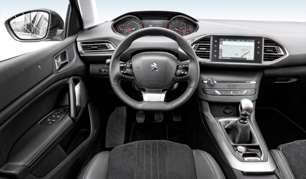 Peugeot 308 SW salpicadero