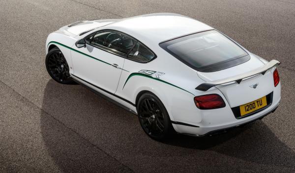 Bentley Continental GT3-R alerón fijo posterior