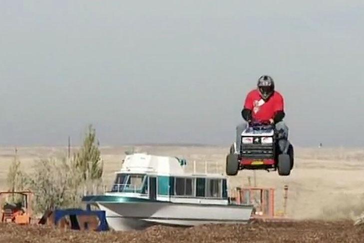 Nitro Circus tractor