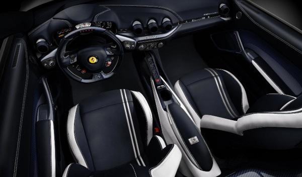 Ferrari F12 berlinetta Polo interior